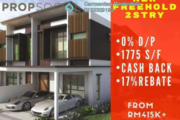 For Sale Terrace at Greenwoods @ Salak Perdana, Sepang Freehold Unfurnished 4R/3B 415k