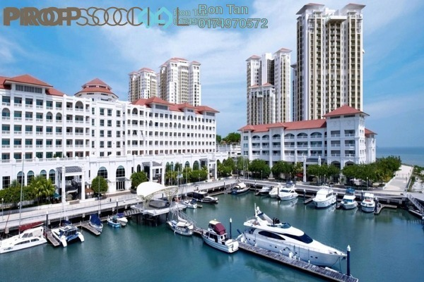For Sale Serviced Residence at Straits Quay, Seri Tanjung Pinang Freehold Fully Furnished 2R/3B 1.85m