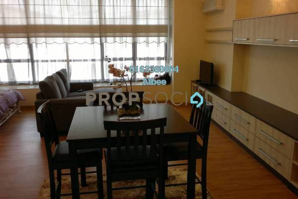 For Rent Condominium at Park View, KLCC Freehold Fully Furnished 0R/1B 2.4k