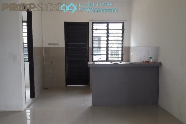 For Rent Terrace at Ken Rimba, Shah Alam Freehold Semi Furnished 4R/3B 1.7k