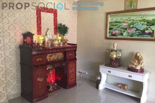 For Sale Terrace at Taman Segar, Cheras Freehold Fully Furnished 5R/3B 990k