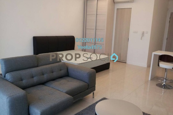 For Rent Condominium at The Horizon Residences, KLCC Freehold Fully Furnished 0R/1B 2.6k
