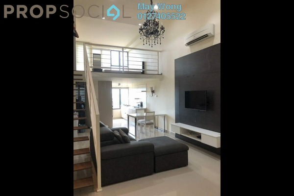 For Rent Serviced Residence at Subang SoHo, Subang Jaya Freehold Fully Furnished 1R/1B 2k