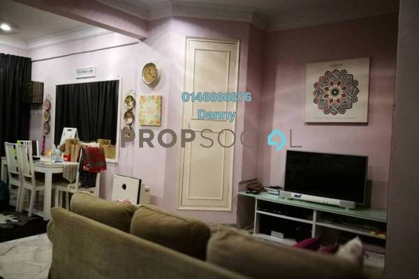 For Rent Condominium at Pangsa Murni, Wangsa Maju Freehold Semi Furnished 3R/2B 1.5k