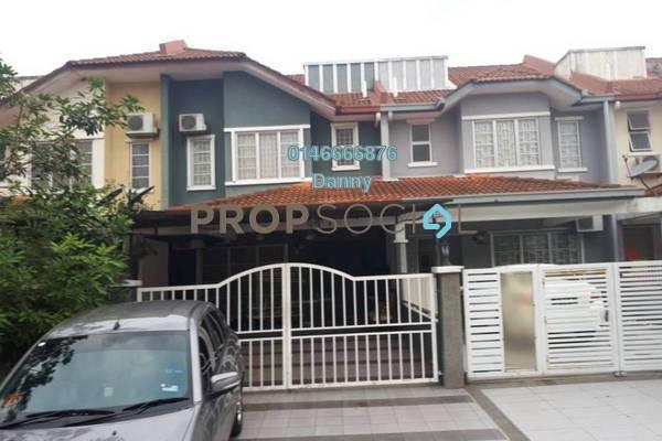 For Rent Terrace at Taman Sutera, Kajang Freehold Semi Furnished 3R/2B 1.5k