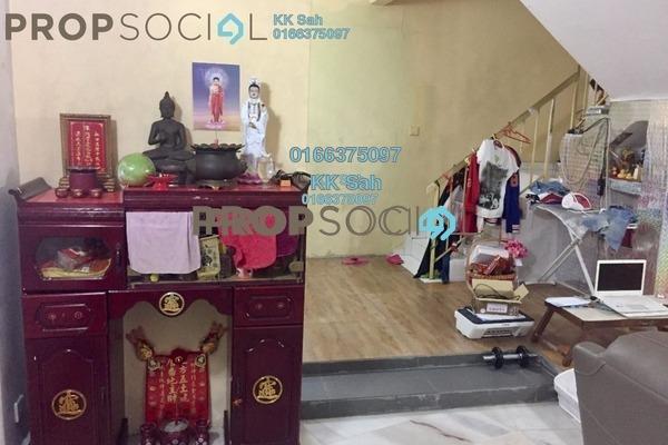 For Sale Link at Taman Mewah Jaya, Klang Freehold Semi Furnished 3R/2B 278k