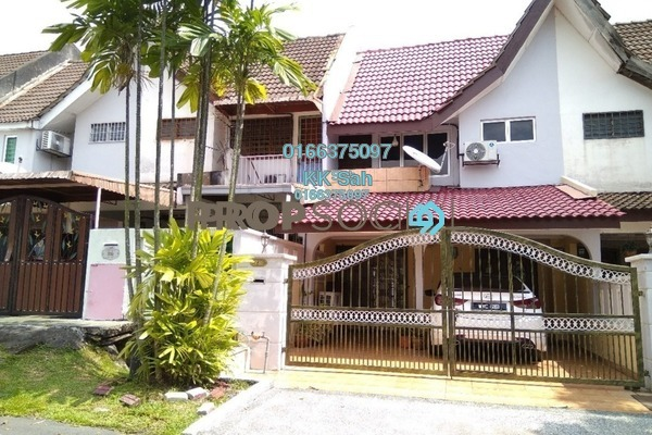 For Sale Link at Taman Koperasi Cuepacs, Bandar Sungai Long Freehold Semi Furnished 3R/2B 388k