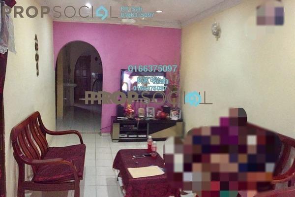 For Sale Link at Taman Sentosa, Klang Freehold Semi Furnished 3R/1B 268k