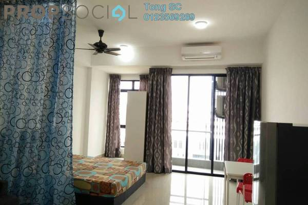 For Rent SoHo/Studio at Paramount Utropolis, Glenmarie Freehold Fully Furnished 1R/1B 1.2k