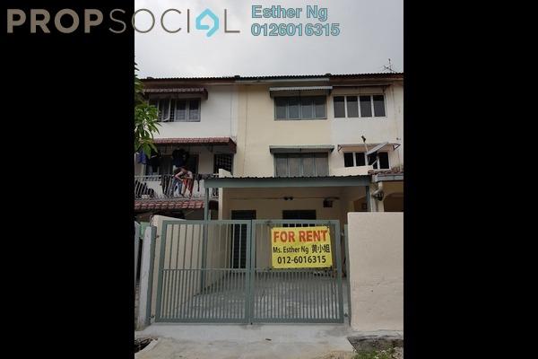 For Rent Terrace at Taman Sri Muda, Shah Alam Freehold Unfurnished 4R/3B 1.4k