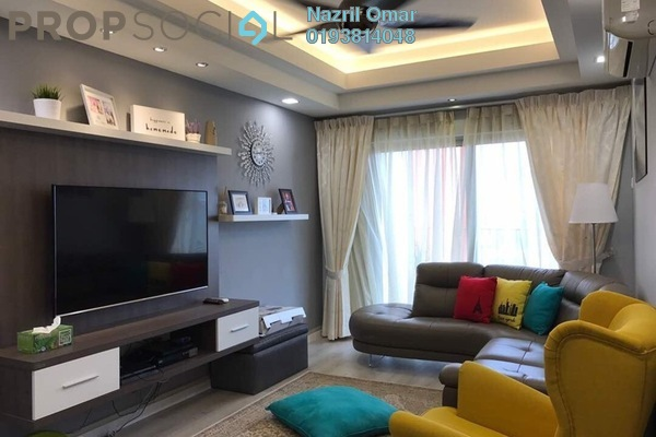 For Sale Serviced Residence at Suria Jelutong, Bukit Jelutong Freehold Semi Furnished 3R/2B 670k