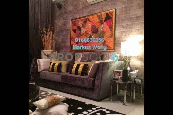 For Rent Condominium at The Treez, Bukit Jalil Freehold Fully Furnished 3R/2B 4.2k