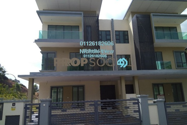 For Sale Semi-Detached at Cheras Vista, Bandar Mahkota Cheras Freehold Unfurnished 6R/6B 1.38m
