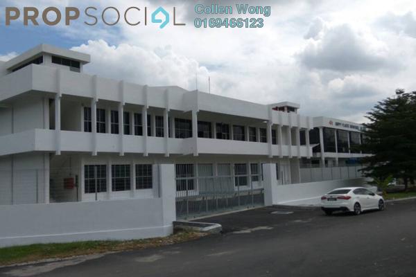 For Sale Factory at Taman Cheras Jaya, Balakong Freehold Semi Furnished 0R/0B 24.5m