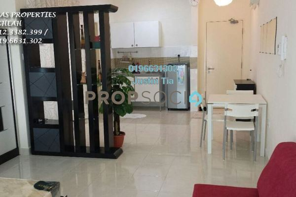 For Rent Condominium at Metropolitan Square, Damansara Perdana Freehold Fully Furnished 1R/1B 1.35k