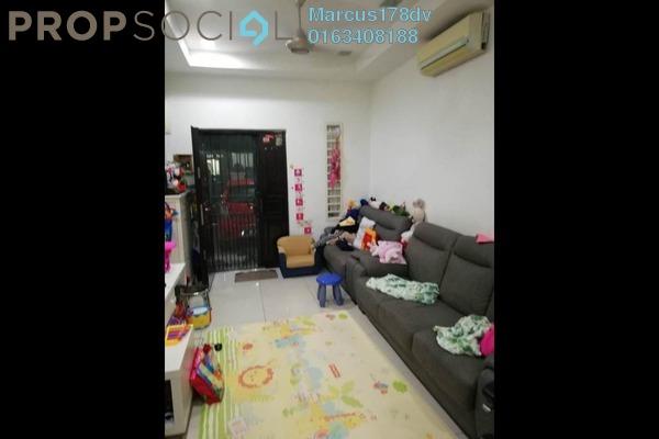 For Sale Terrace at Taman Kuchai Jaya, Kuchai Lama Freehold Semi Furnished 4R/2B 780k