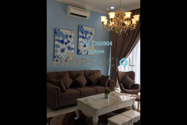 For Rent Condominium at Reflection Residences, Mutiara Damansara Freehold Fully Furnished 3R/3B 4k