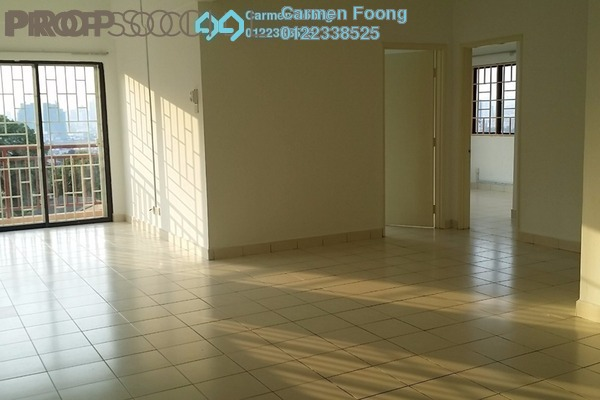 For Rent Condominium at Glen View Villa, Cheras Freehold Semi Furnished 3R/2B 1.2k