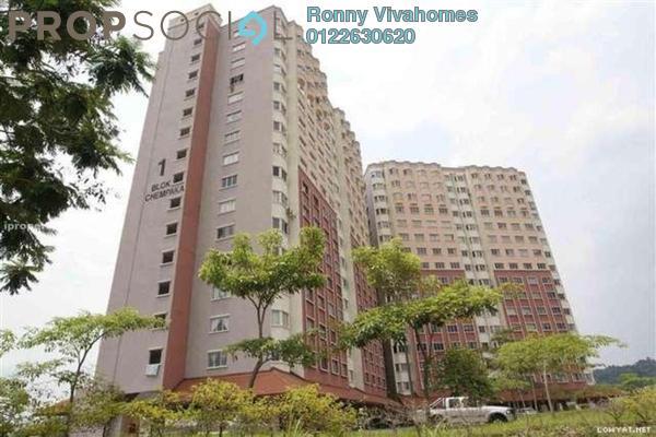 For Sale Apartment at Desaminium Flora, Bandar Putra Permai Freehold Unfurnished 3R/2B 230k