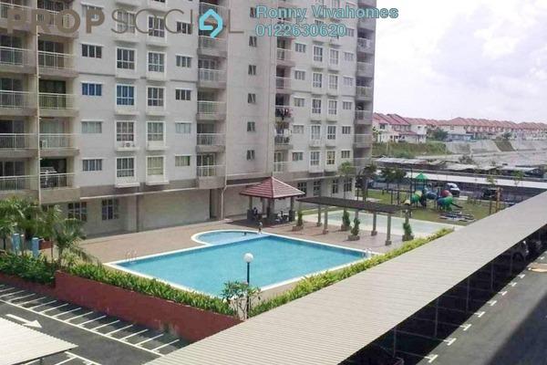 For Sale Apartment at Cahaya Permai, Bandar Putra Permai Freehold Unfurnished 3R/2B 338k