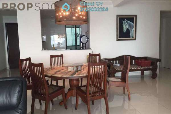 For Sale Condominium at Papillon Desahill, Taman Desa Freehold Fully Furnished 4R/2B 1.45m