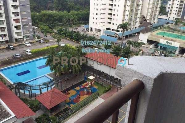 For Sale Condominium at Endah Ria, Sri Petaling Freehold Fully Furnished 3R/2B 430k