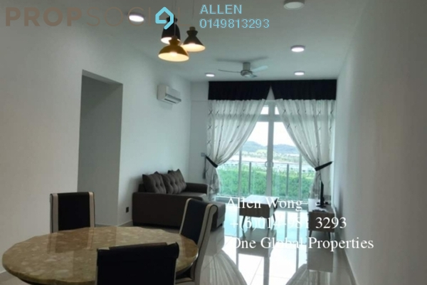 For Rent Condominium at Taman Bukit Indah, Bukit Indah Freehold Fully Furnished 3R/2B 2.5k
