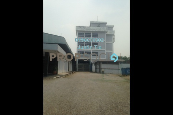 For Rent Factory at Section 16, Shah Alam Freehold Semi Furnished 0R/0B 46.4k