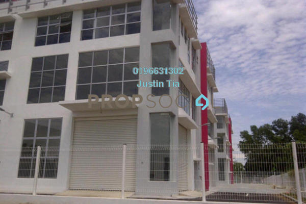 For Rent Factory at Jelutong Prime, Bukit Jelutong Freehold Semi Furnished 0R/0B 16k