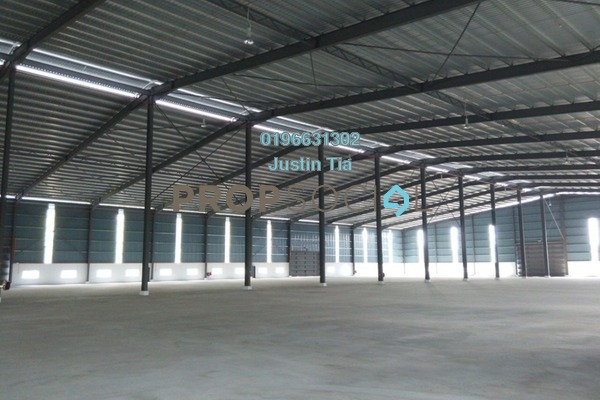 For Rent Factory at Kampung Telok Gong , Port Klang Freehold Semi Furnished 0R/0B 156k