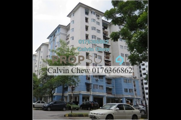 For Sale Apartment at Tasik Heights Apartment, Bandar Tasik Selatan Leasehold Unfurnished 3R/0B 239k