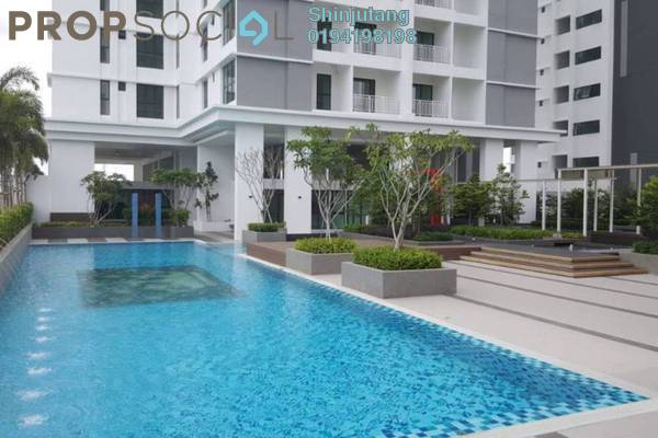 For Rent Condominium at Mahkota Impian, Bukit Minyak Freehold Unfurnished 3R/2B 1.1k