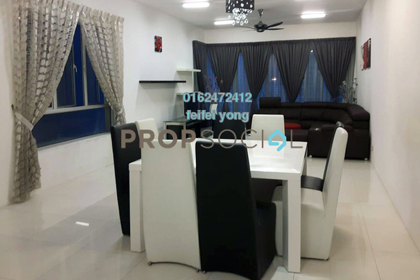 For Sale Condominium at Kiara 1888, Mont Kiara Freehold Fully Furnished 4R/3B 970k