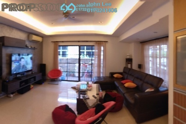 For Sale Semi-Detached at Taman Setapak, Setapak Freehold Fully Furnished 4R/4B 1.8m