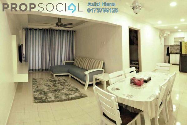 For Rent Apartment at Taman Cahaya, Ampang Freehold Fully Furnished 3R/2B 1.5k