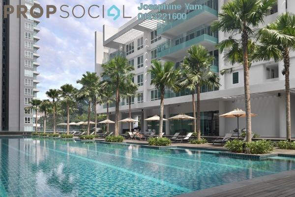 For Rent Condominium at Suasana Bukit Ceylon, Bukit Ceylon Freehold Fully Furnished 1R/1B 2.3k