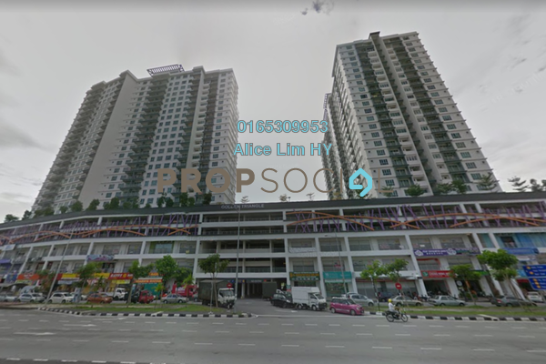 For Rent Condominium at The Golden Triangle, Relau Freehold Fully Furnished 3R/2B 1.69k