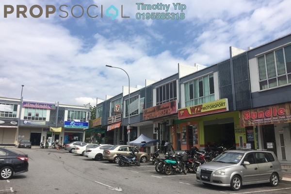 For Sale Shop at Taman Puncak Saujana, Kajang Freehold Semi Furnished 0R/0B 785k