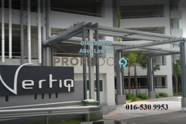 For Rent Condominium at Vertiq, Gelugor Freehold Fully Furnished 3R/3B 4.5k