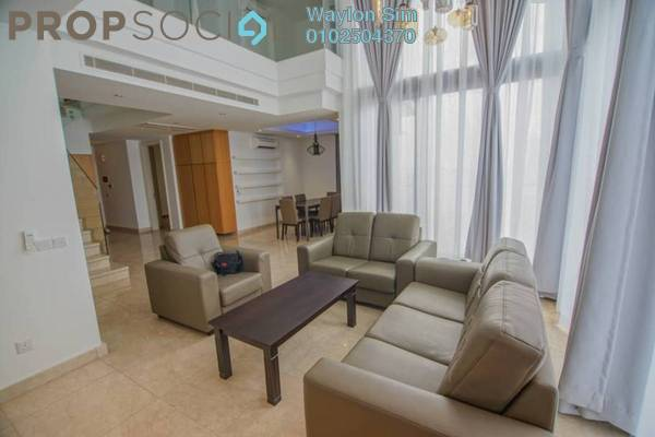 For Rent Condominium at Lumina Kiara, Mont Kiara Freehold Fully Furnished 5R/5B 7.5k