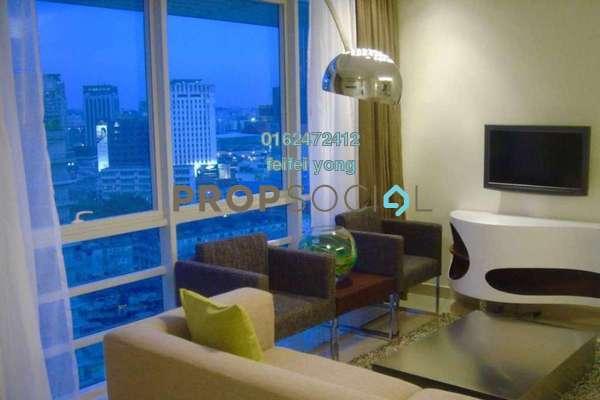 For Sale SoHo/Studio at One Residency, Bukit Ceylon Freehold Fully Furnished 1R/1B 830k
