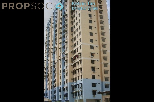 For Sale Condominium at Taman Seri Perak, Jelutong Freehold Unfurnished 3R/2B 350k
