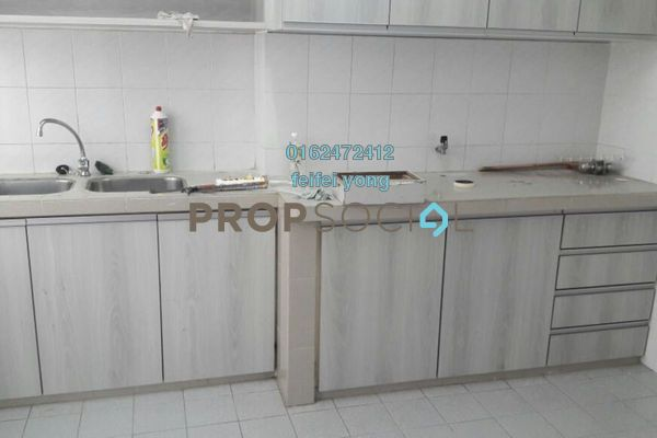 For Rent Condominium at Danau Idaman, Taman Desa Freehold Semi Furnished 3R/2B 1.6k