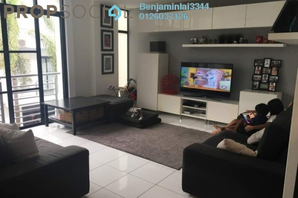 For Sale Terrace at Valencia Apartment, Shah Alam Freehold Fully Furnished 4R/3B 1.43m
