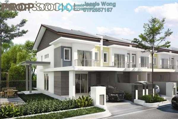 For Sale Terrace at Serin Residency, Cyberjaya Freehold Semi Furnished 4R/4B 528k