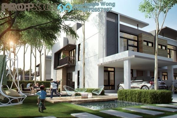 For Sale Terrace at Tiara Sentral, Nilai Impian Freehold Semi Furnished 4R/4B 518k