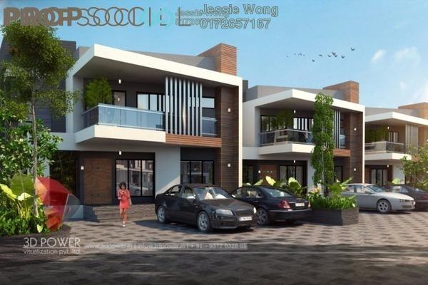 For Sale Terrace at CBD Perdana 1, Cyberjaya Freehold Semi Furnished 4R/4B 528k