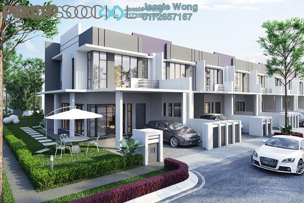 For Sale Terrace at CBD Perdana 2, Cyberjaya Freehold Semi Furnished 4R/4B 528k