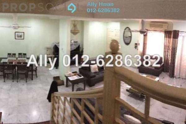 For Sale Terrace at SD7, Bandar Sri Damansara Freehold Semi Furnished 4R/4B 1.2m