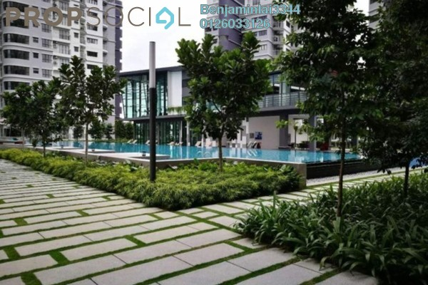 For Sale Serviced Residence at Maisson, Ara Damansara Freehold Semi Furnished 3R/2B 630k